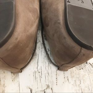 Lucky Brand Shoes - Lucky Brand Aviee Taupe Suede Flats Size 9